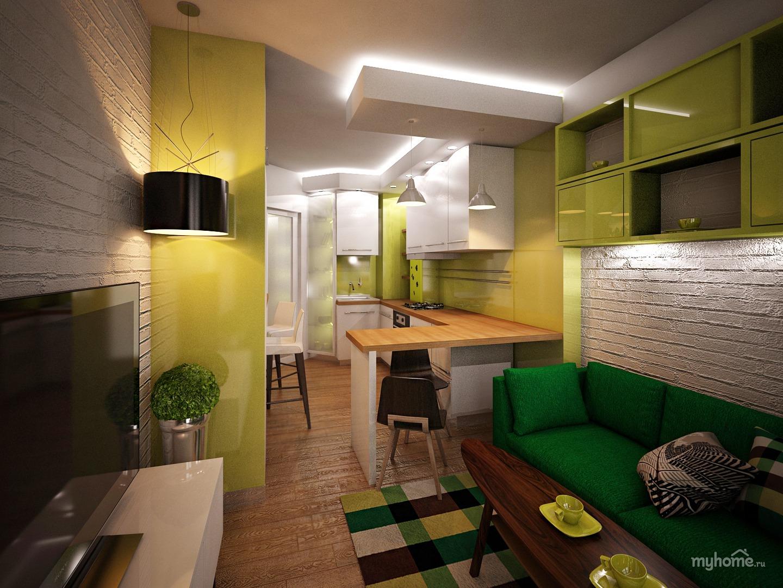 Дизайн кухни гостиной 15 метров