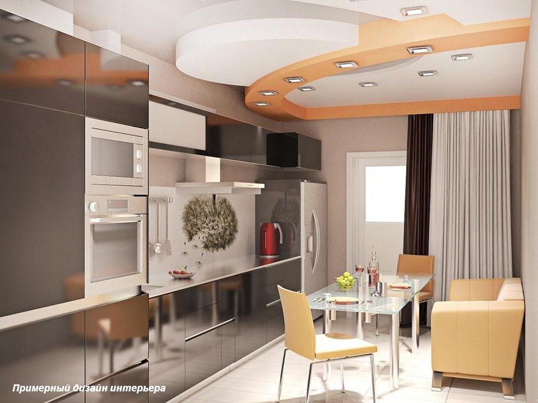 Кухня 13 метров дизайн