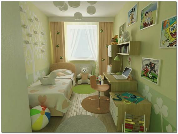 Дизайн маленькой комнаты детская