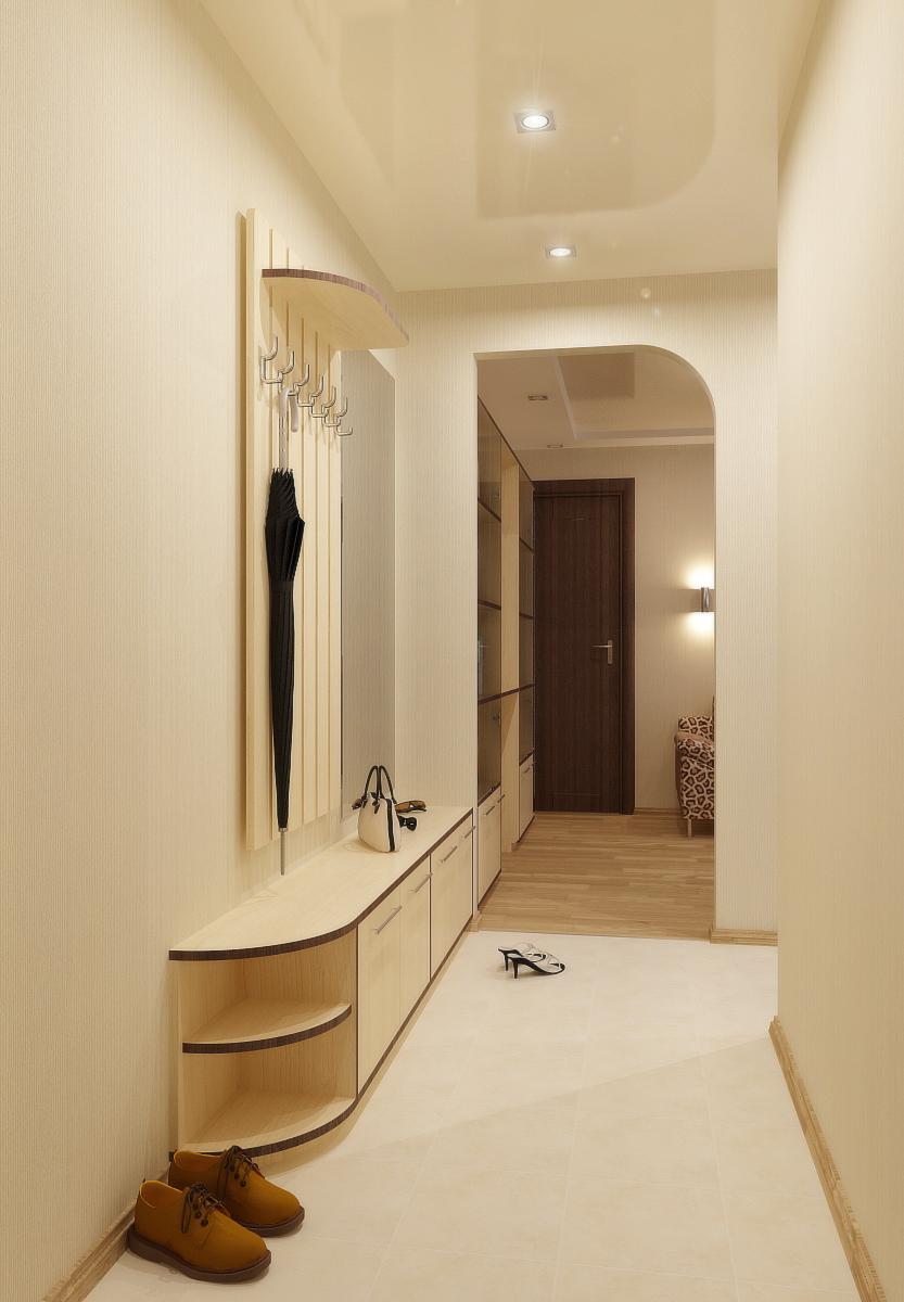 Дизайн двухкомнатных квартир прихожая