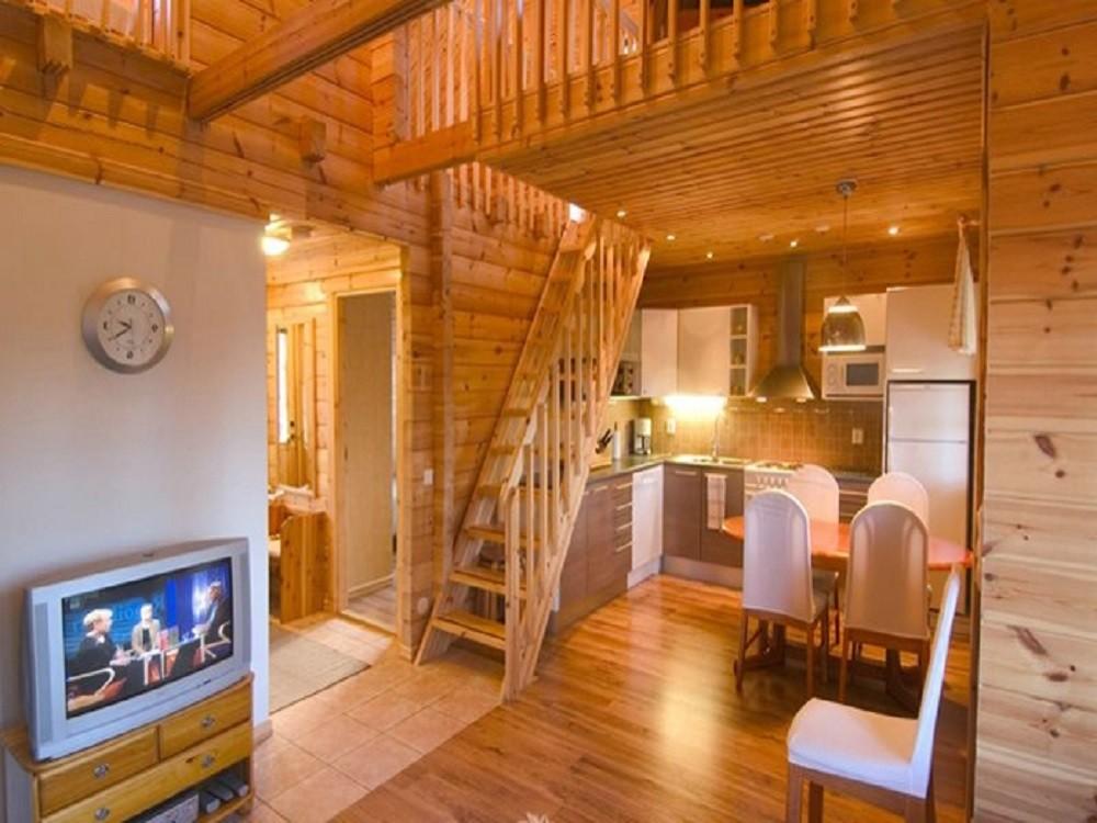 Интерьер деревянные дома из бруса фото проекты и цены