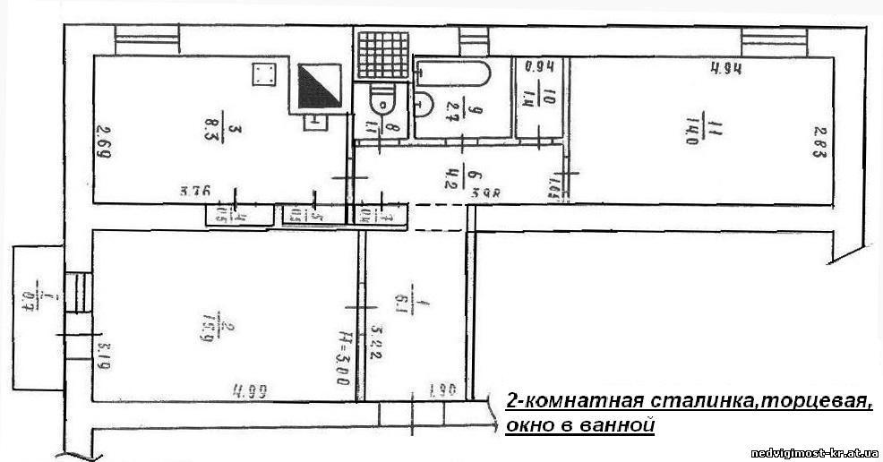"""Типовые планировки 2-х комнатных квартир """" современный дизай."""