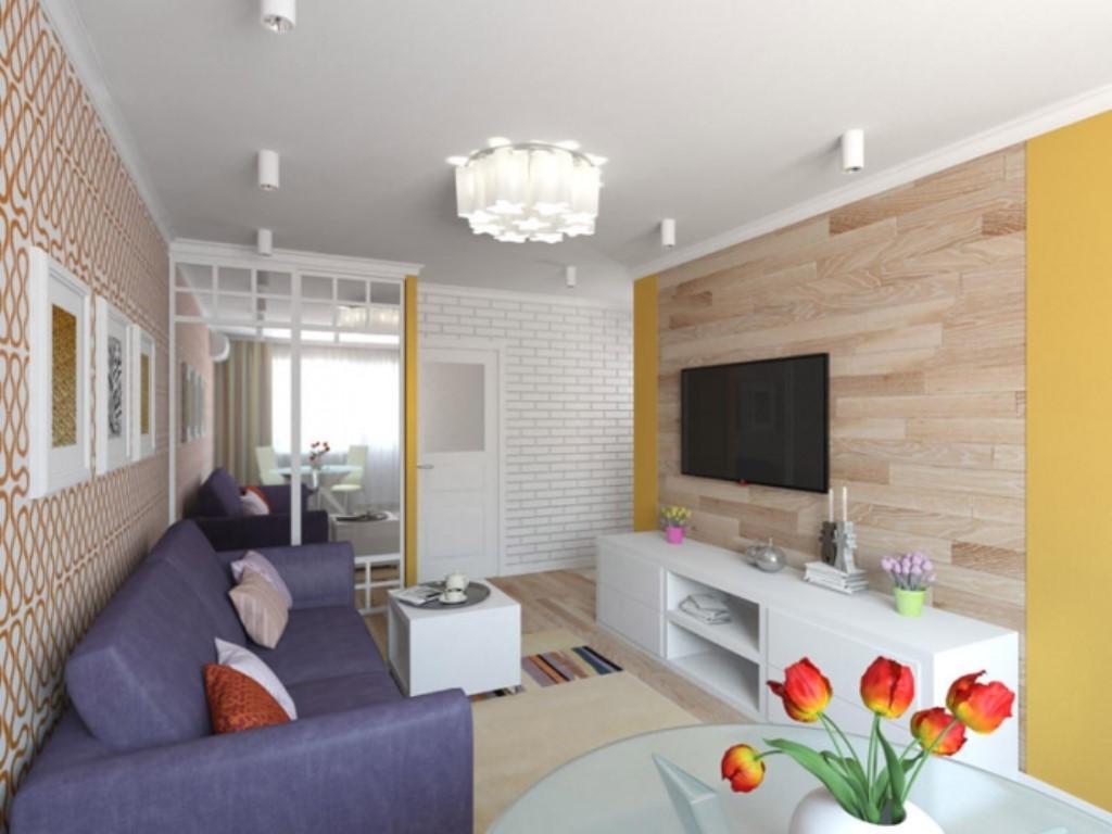 Дизайн интерьера квартиры брежневки 2 комнаты