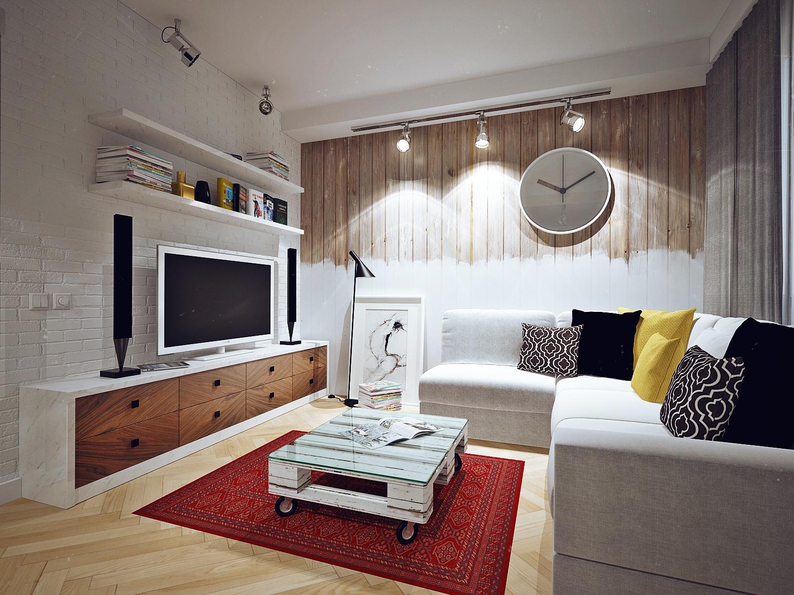 Гостиная в стиле скандинавском фото интерьер