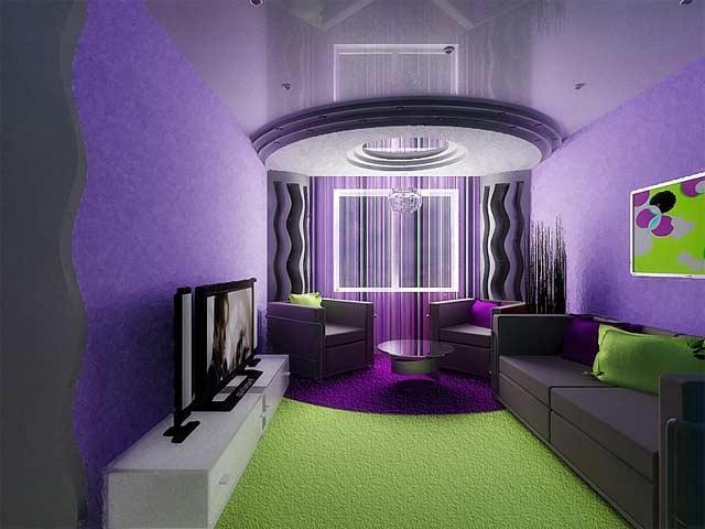 Дизайн маленького зала спальни в квартире
