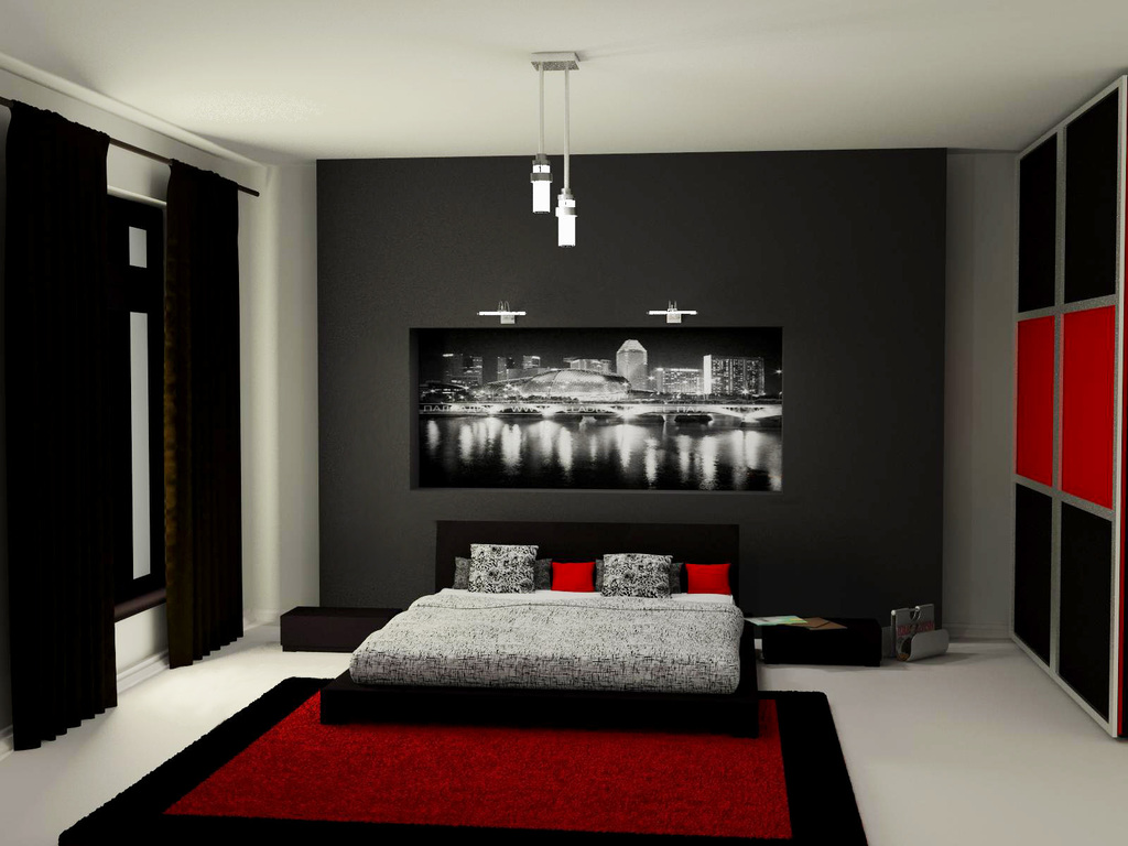Дизайны комнат для мужчин