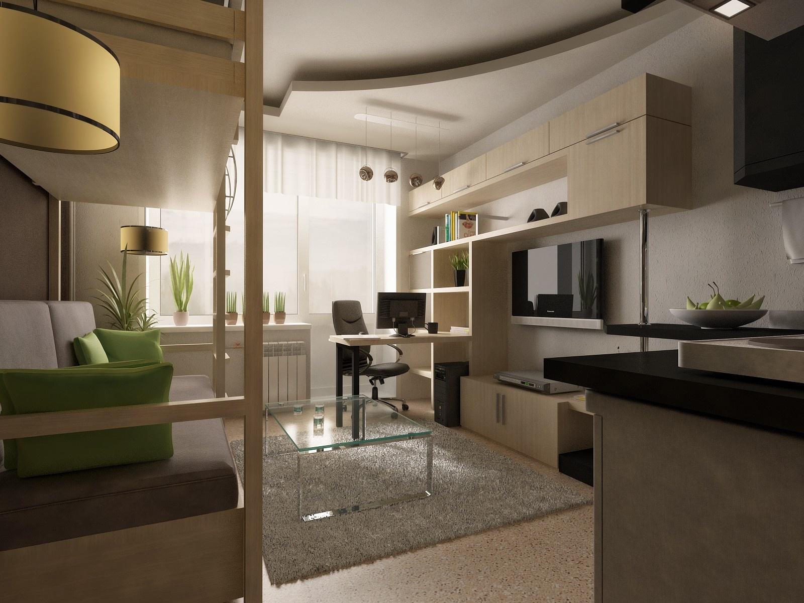 Квартира студия 18 кв м дизайн