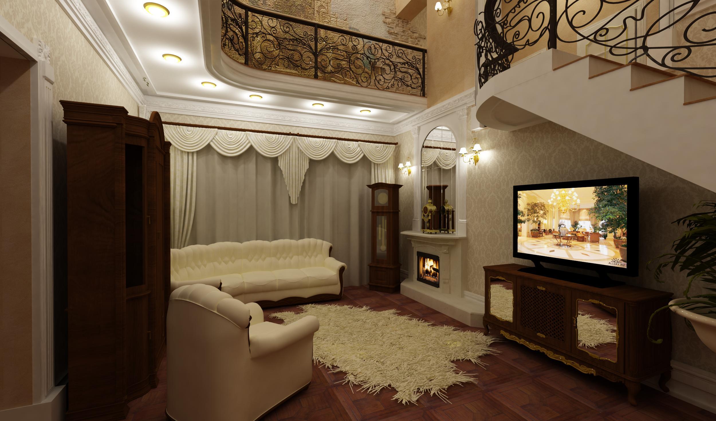 Фото дизайн интерьер гостиной в частном доме