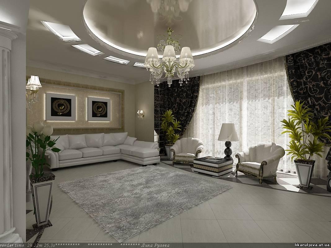 Дизайн гостиной 30 кв.м в частном доме