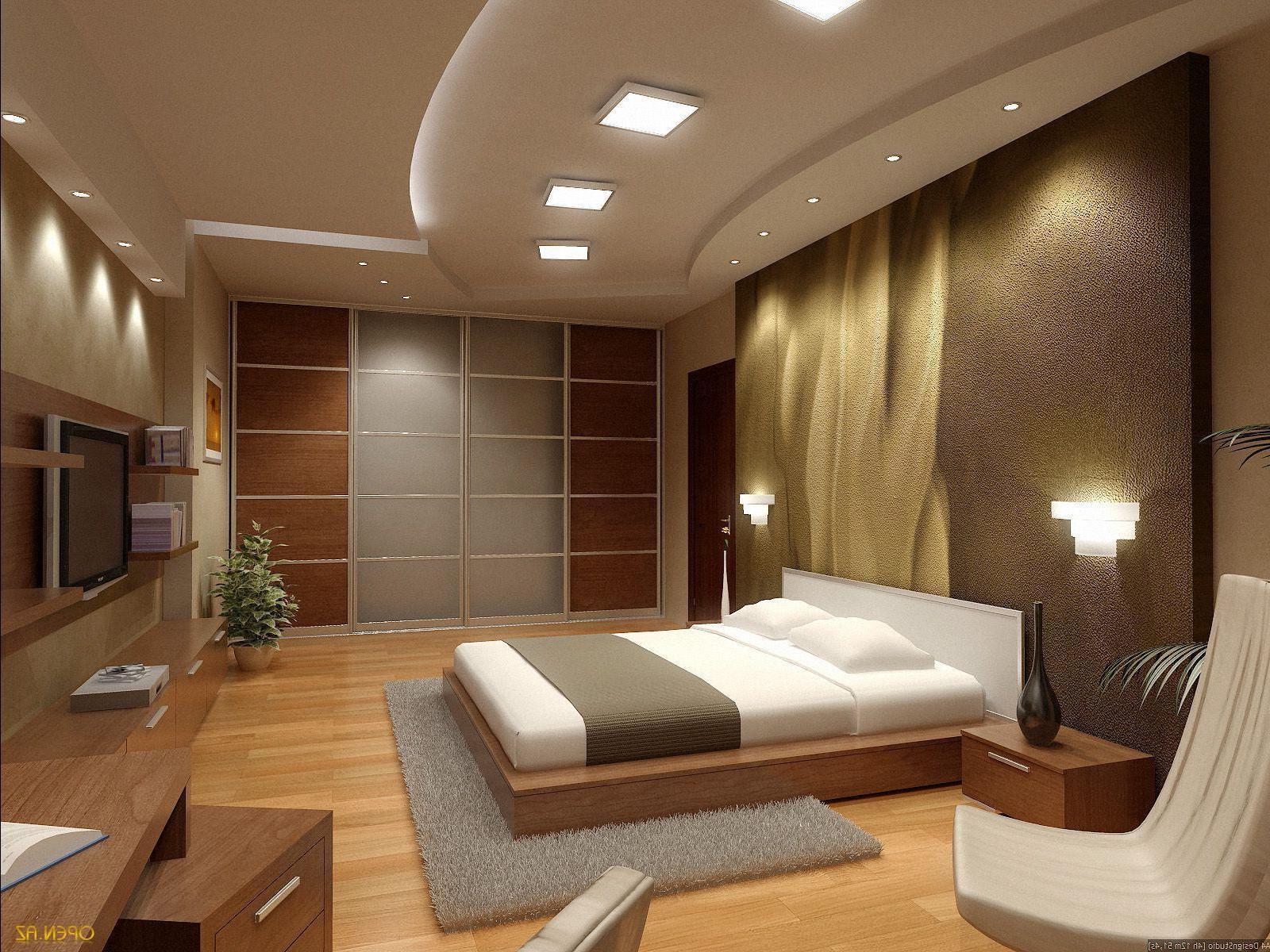 Фото дизайна спальни из гипсокартона