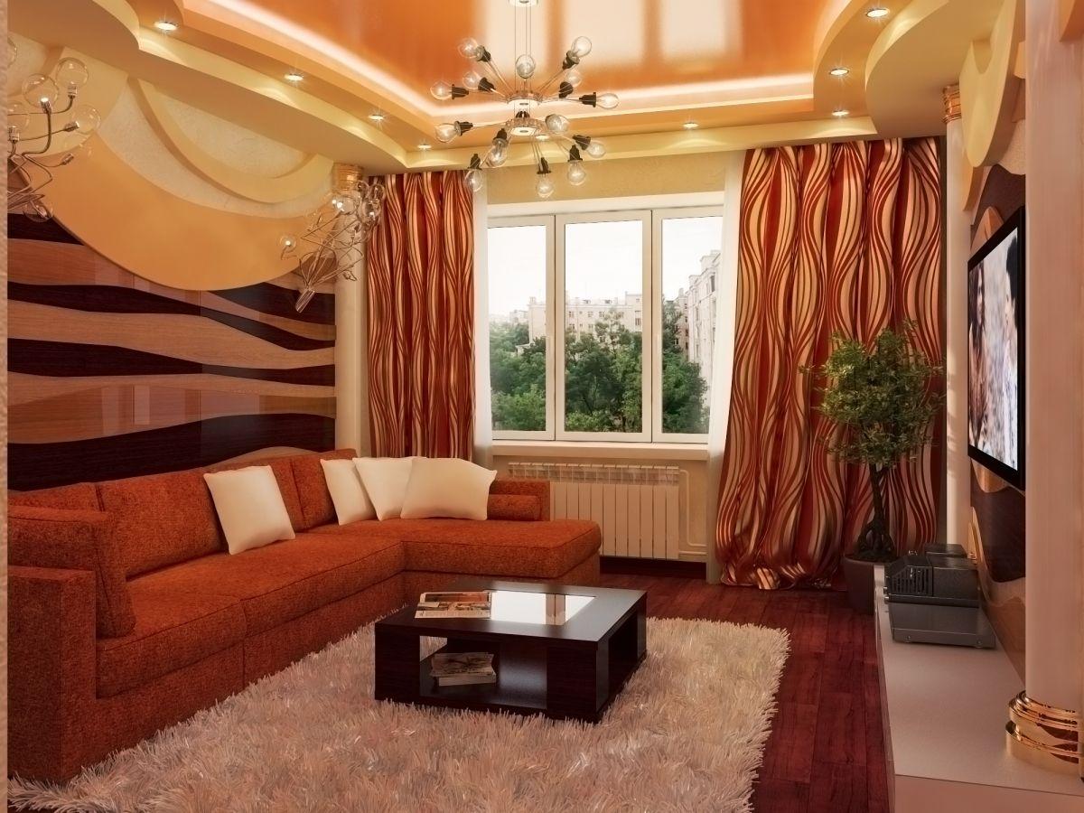 Дизайны зала в хрущевке