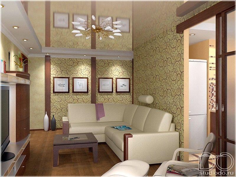 Маленькая гостиная дизайн в хрущевке