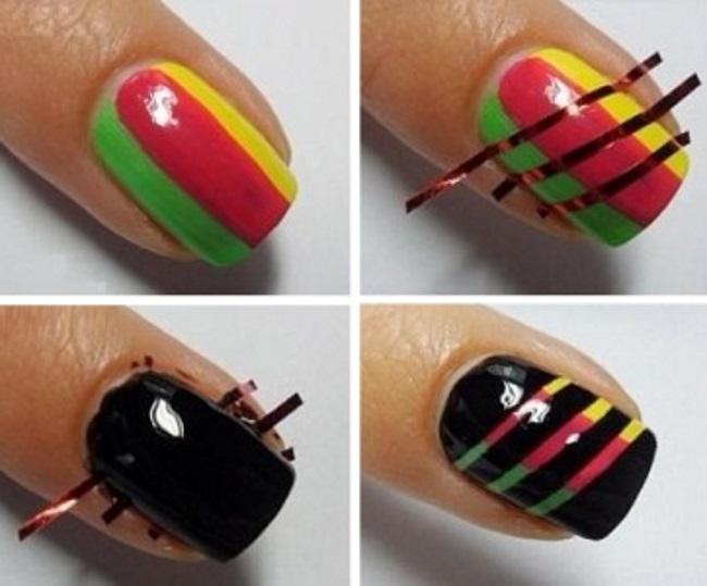 Из чего сделать простого дизайн ногтей в
