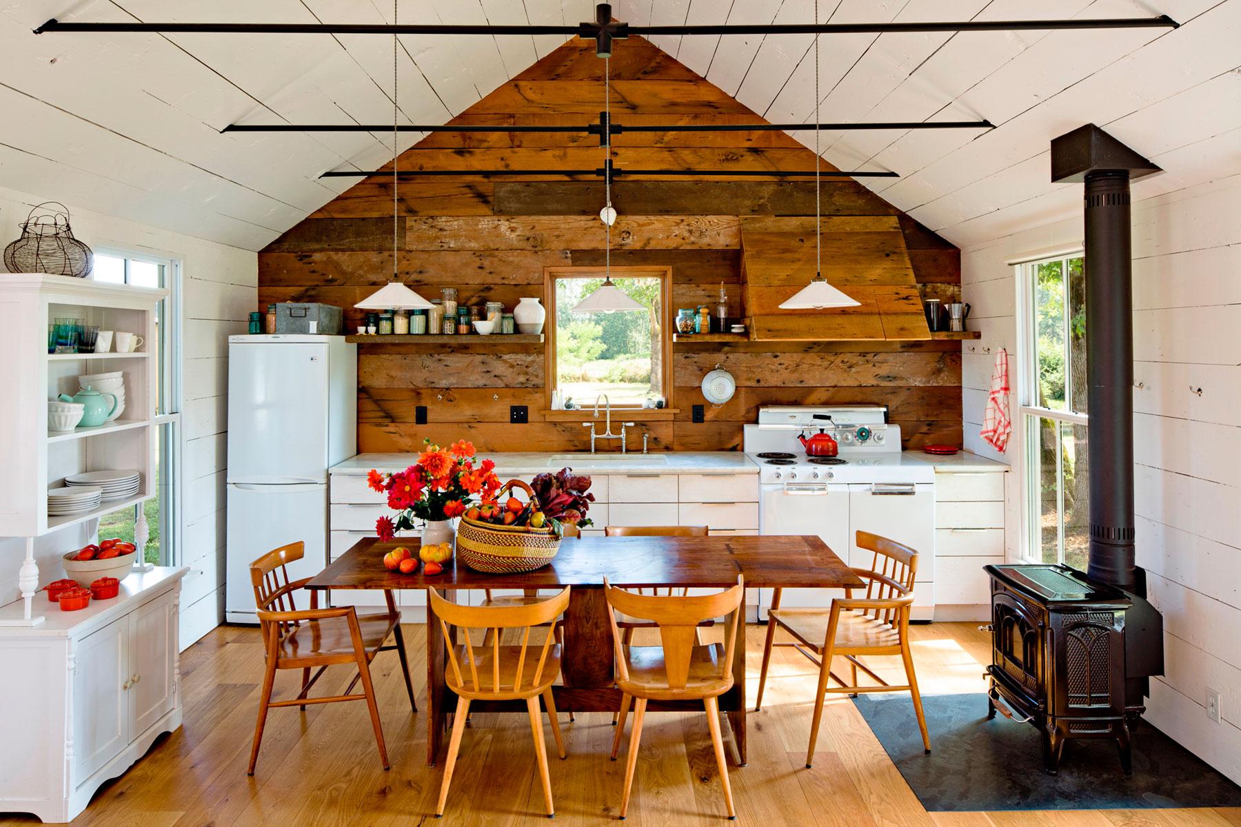 Кухня в загородном доме идеи своими руками