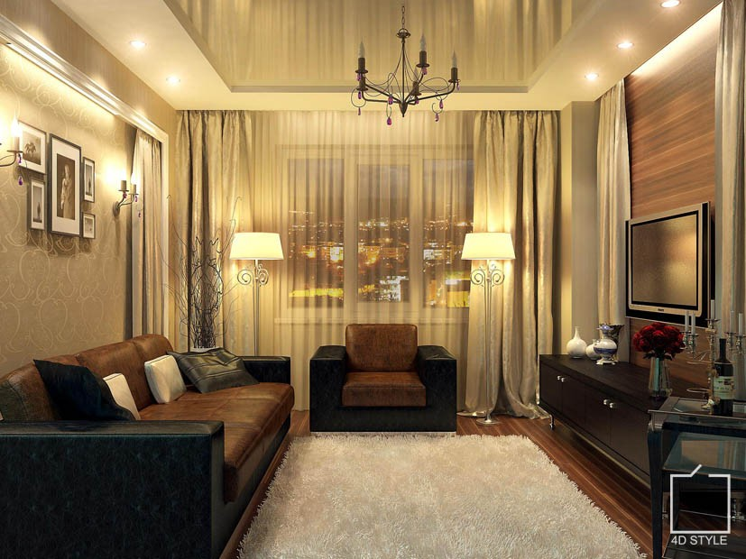 Фото дизайн 2 комн квартиры