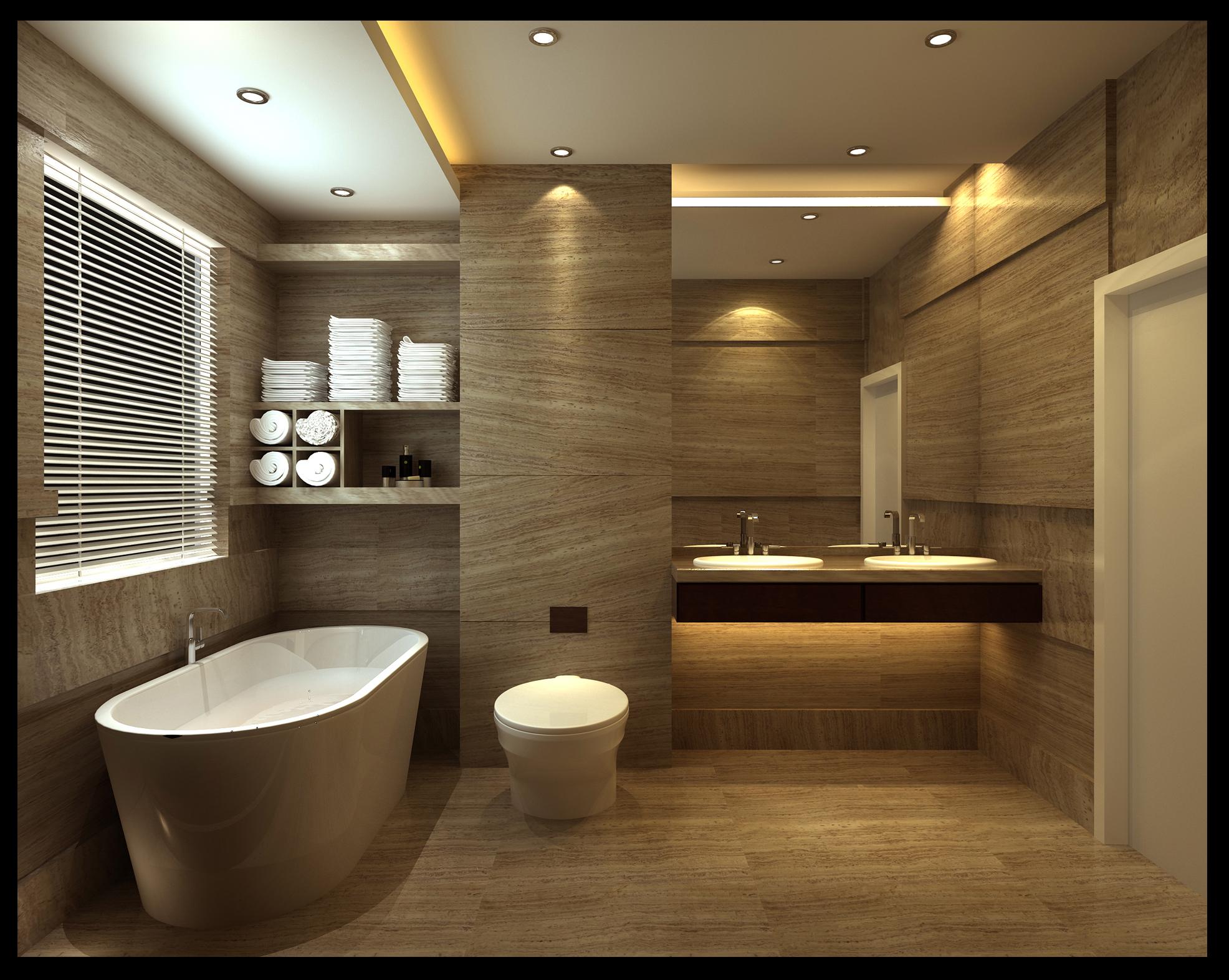 Дизайн ванной совмещенной с туалетом комнаты 2017-2018 современные идеи