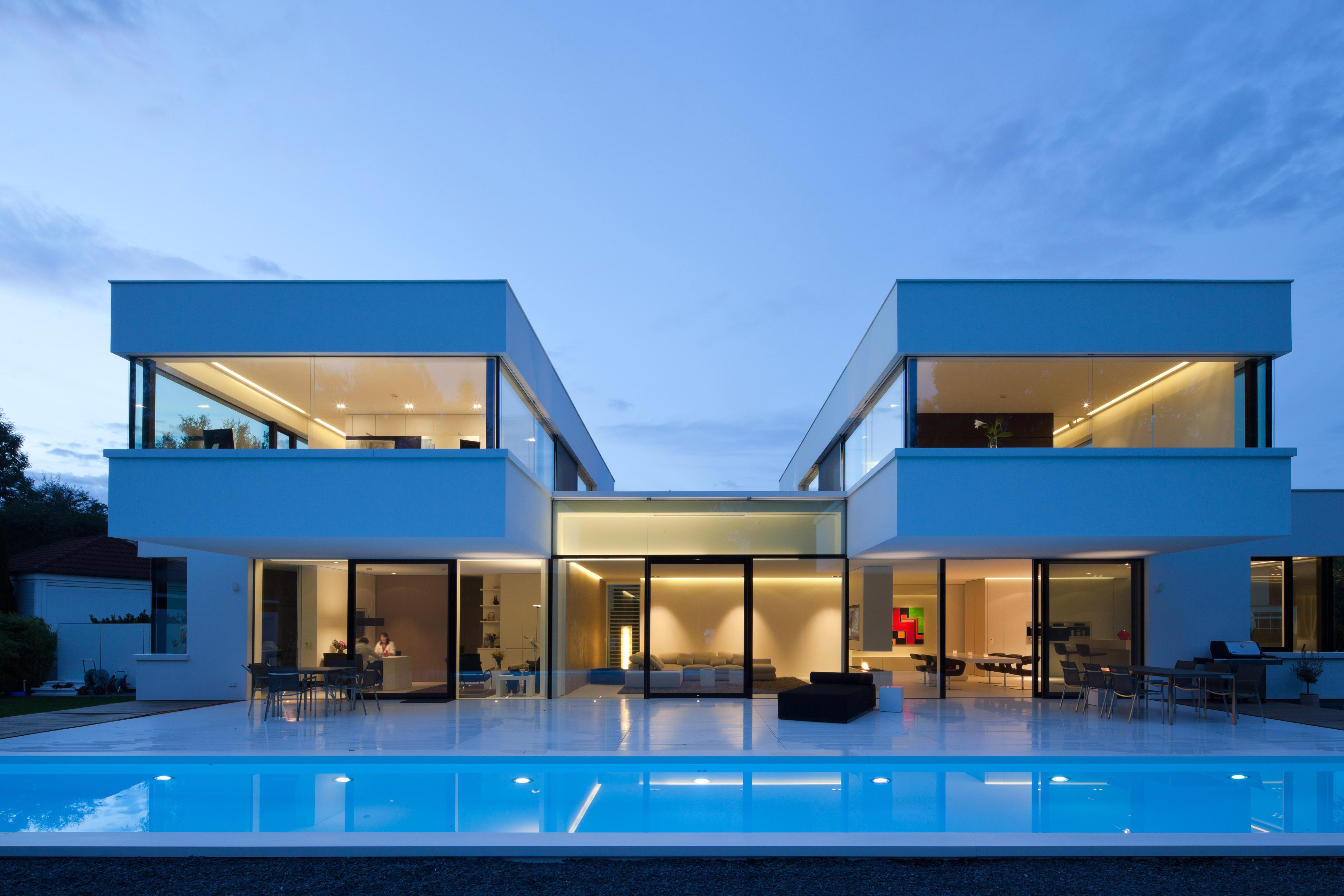 Дизайн домов с плоской крышей