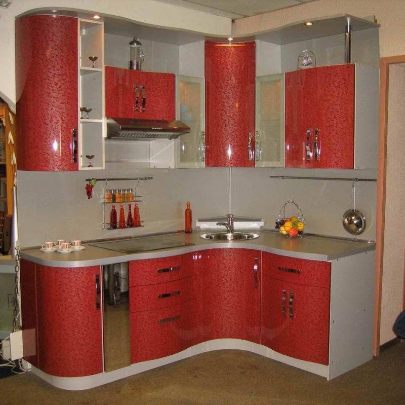 Кухонный гарнитур дизайн для маленькой кухни угловые