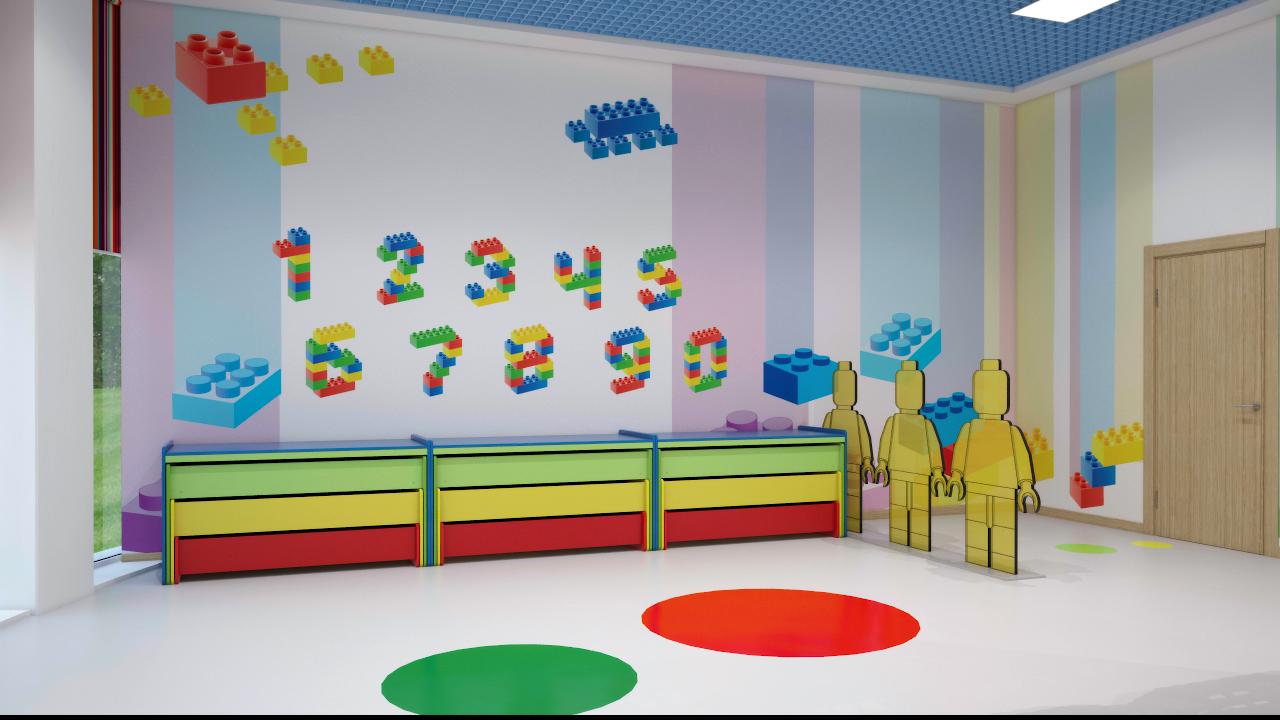 """Дизайн интерьера детских садов """" современный дизайн."""