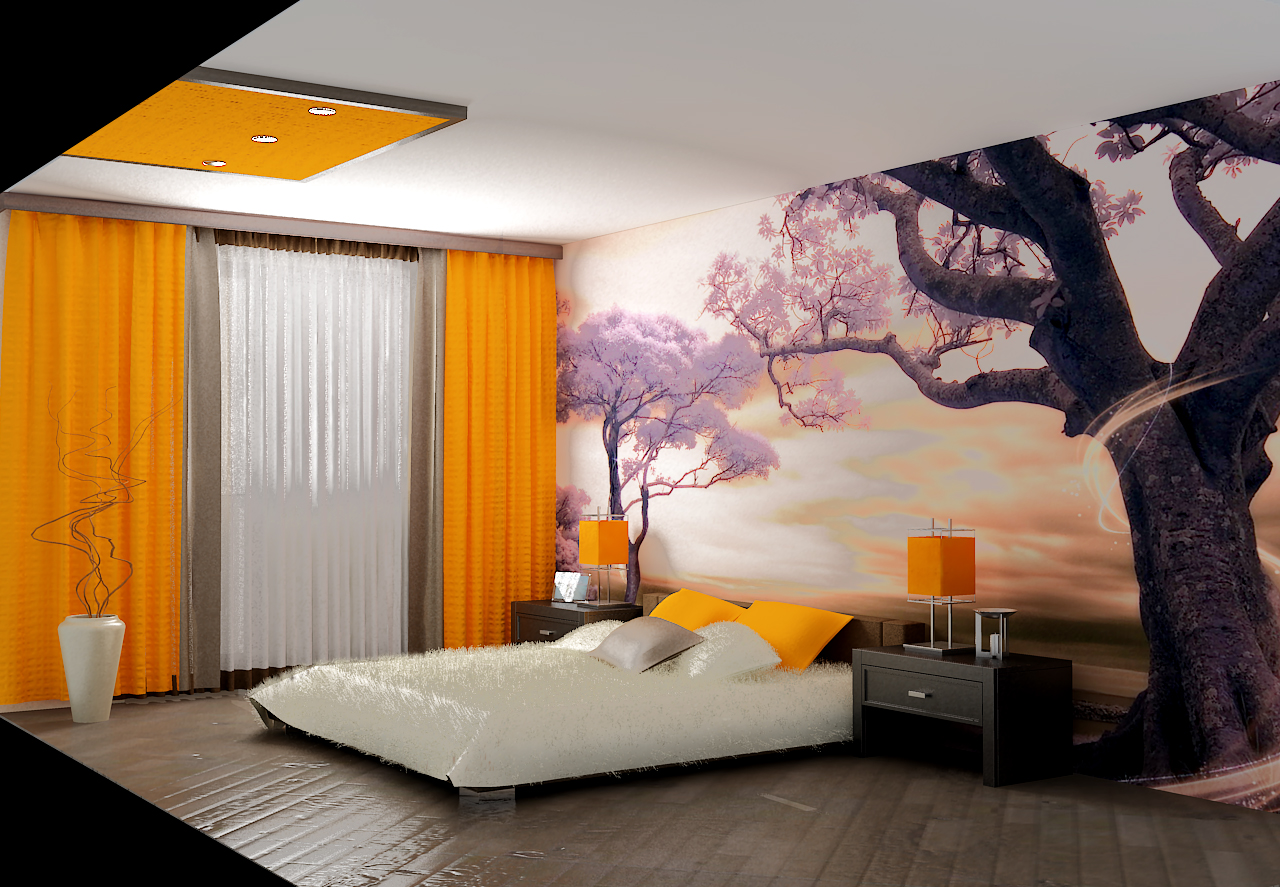 Интерьер комнаты фото спальня