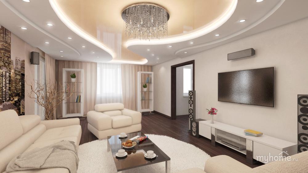 Фото дизайна 3 комнатных квартир