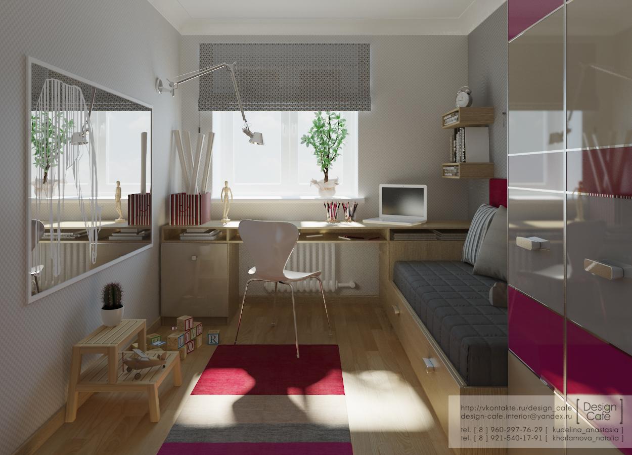 """Дизайн комнат 10 кв.м """" современный дизайн."""