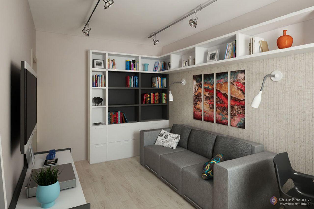 Дизайн 9м комнаты
