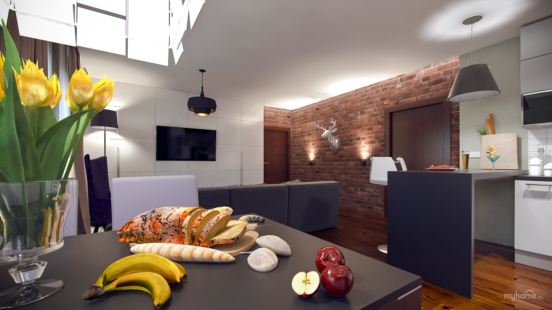 Дизайн квартир российских знаменитостей