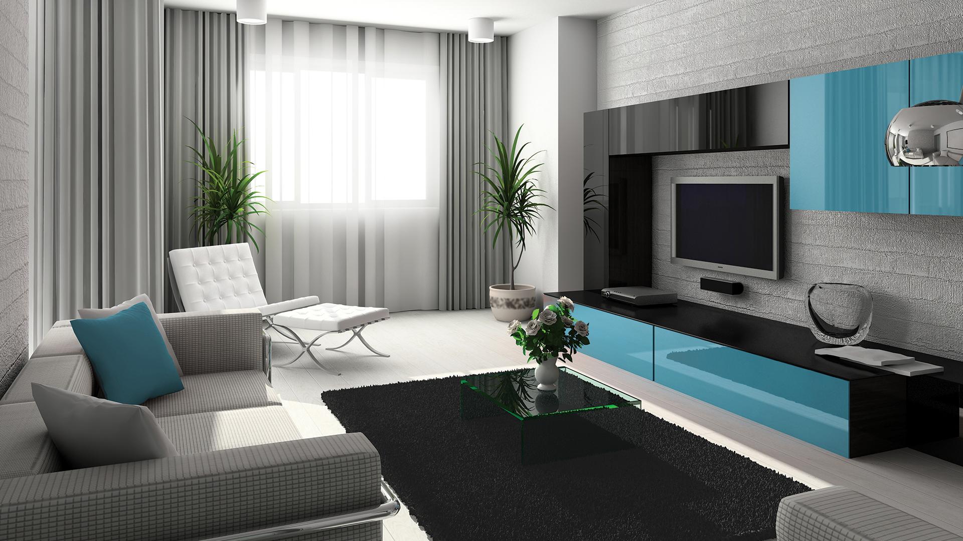 Красивые интерьеры для гостинной