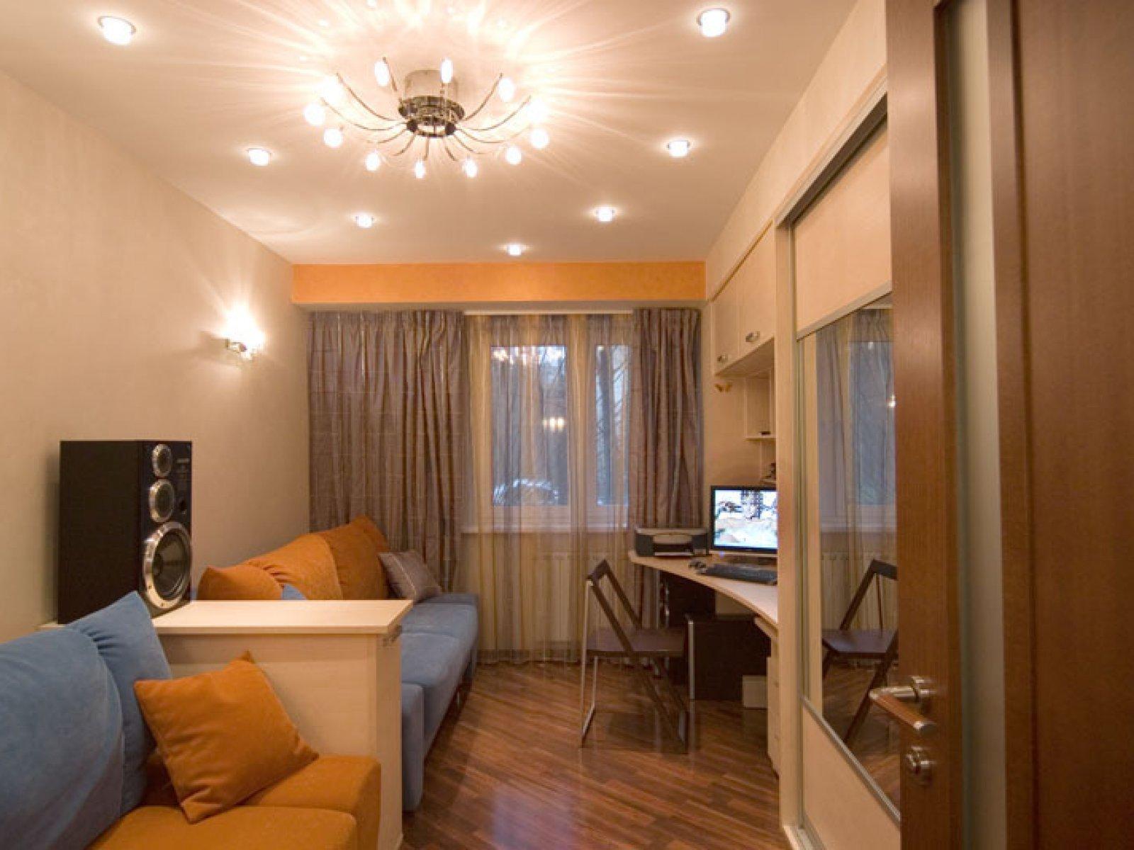 Фото интерьер двухкомнатной малогабаритной квартиры
