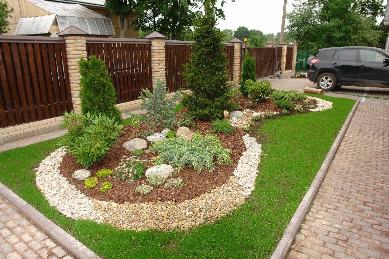 Садовый участок дизайн своими руками 6 соток