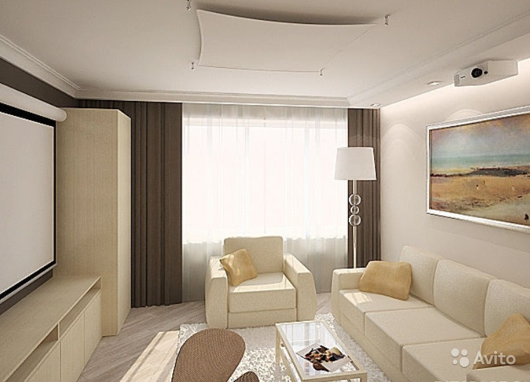Дизайн квартиры хрущевки 2 комнаты