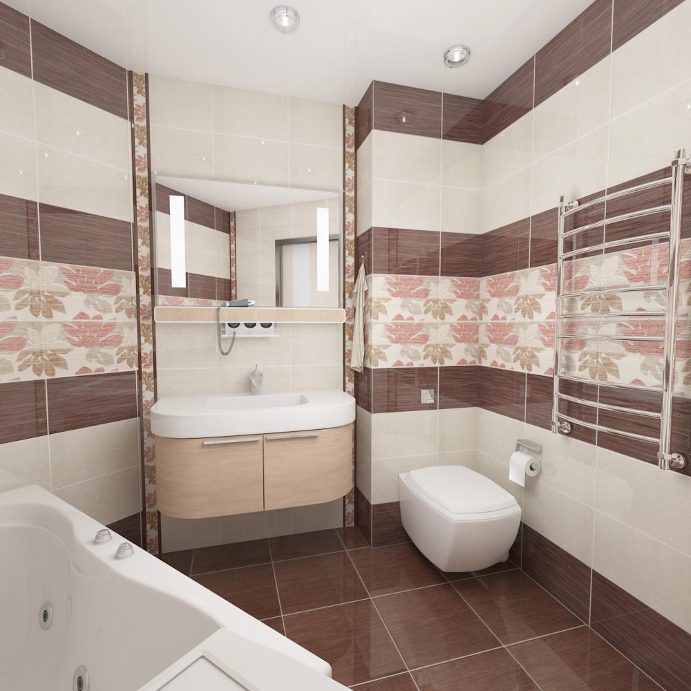 Варианты плитки для ванной комнаты фото