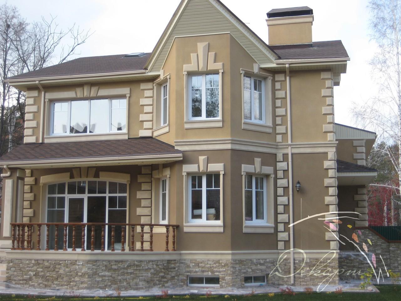Фото фасадных декоров