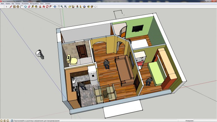 Дизайн квартир хрущевок 2-х комнатных