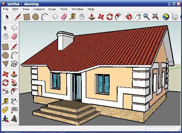 В какой программу рисовать проект дома