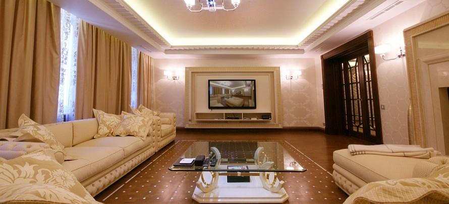 Зал в частном доме дизайн