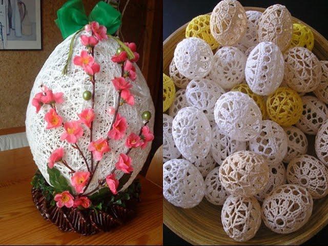 Поделки пасхальные для яиц своими руками