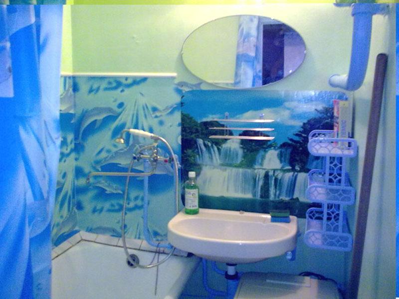 Своими руками декор в ванную комнату
