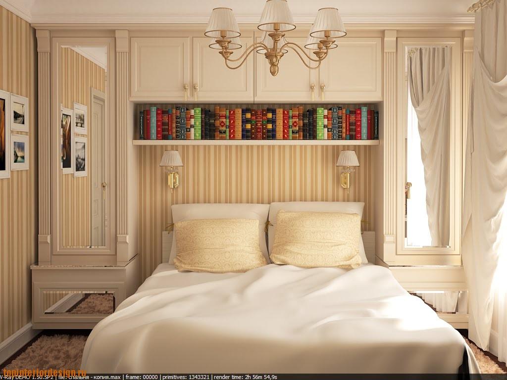 """Маленькие спальни фото дизайн """" современный дизайн."""