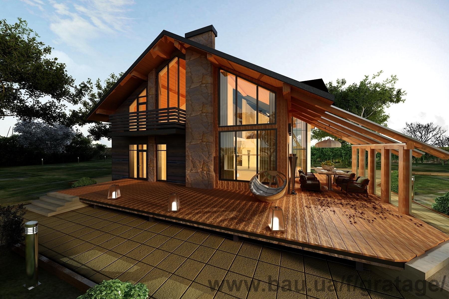 Лучшие дизайны частных домов