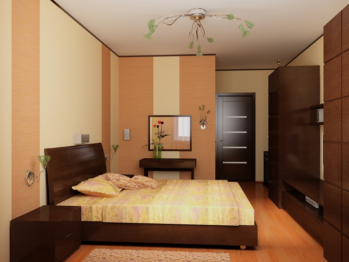 """Ремонт спальни 15 кв.м """" современный дизайн."""