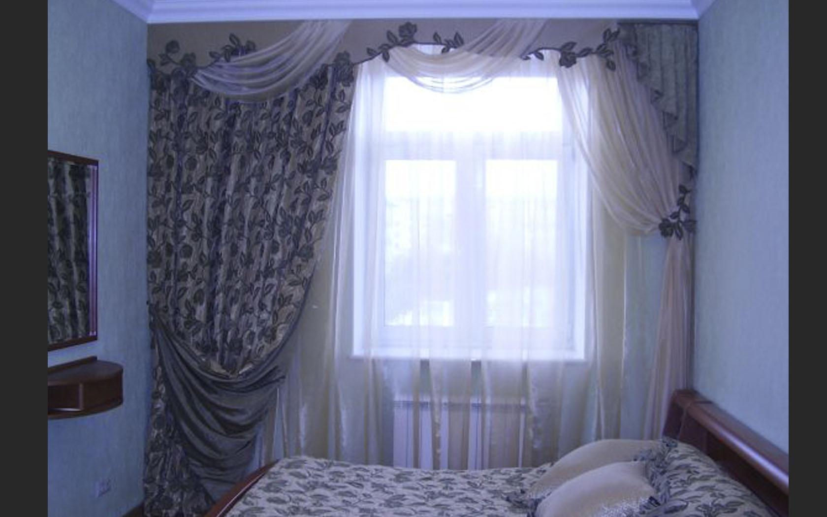 Как сделать шторы в спальня