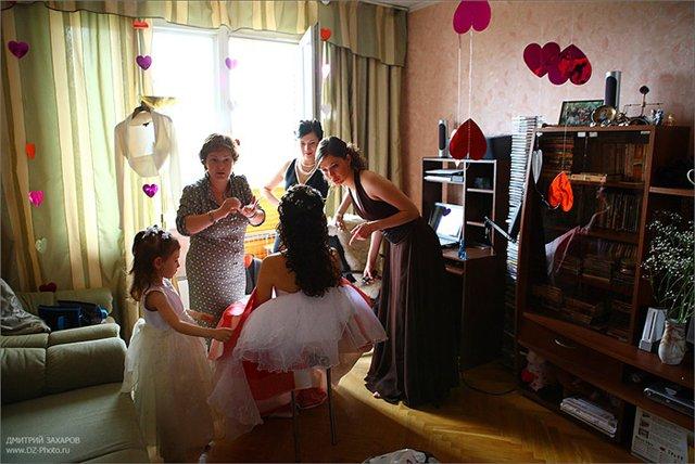 Фото как украсить комнату к свадьбе своими руками фото