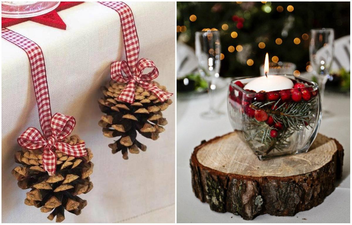 Поделки для новогоднего декора своими руками