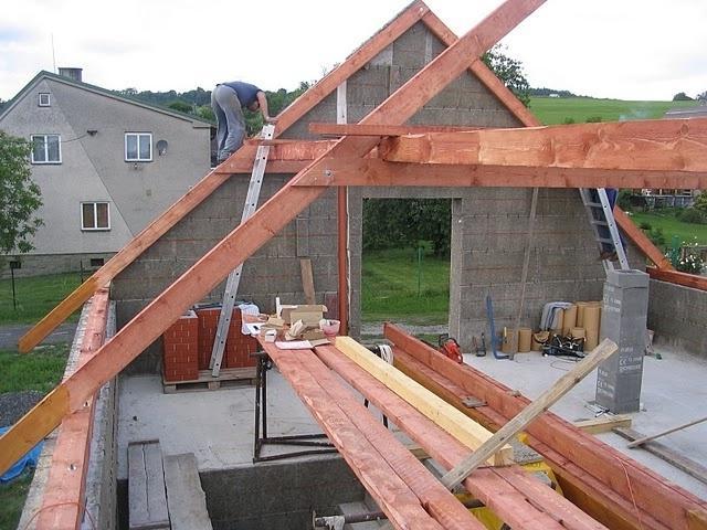Как поставить крышу дома своими руками 6