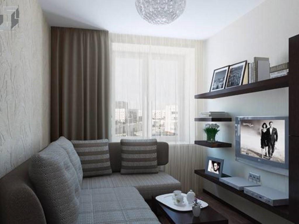Малогабаритные гостиные дизайн фото