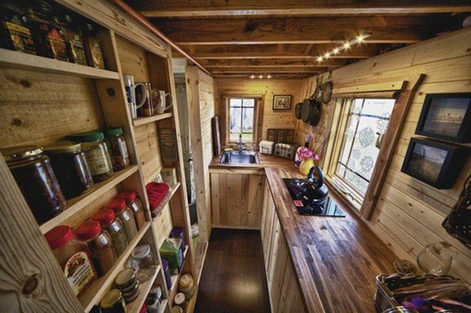 Интерьеры небольших домов фото