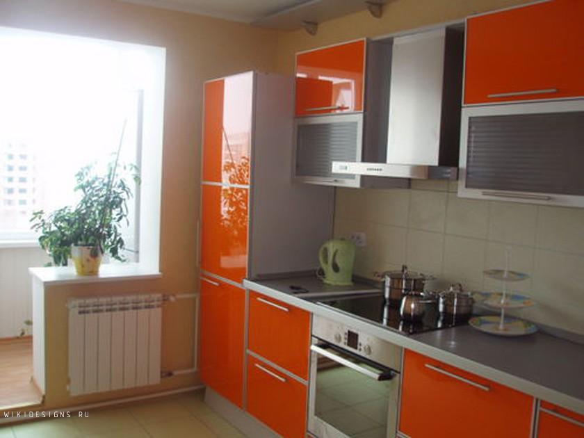 """Угловые кухни с балконом фото """" современный дизайн."""
