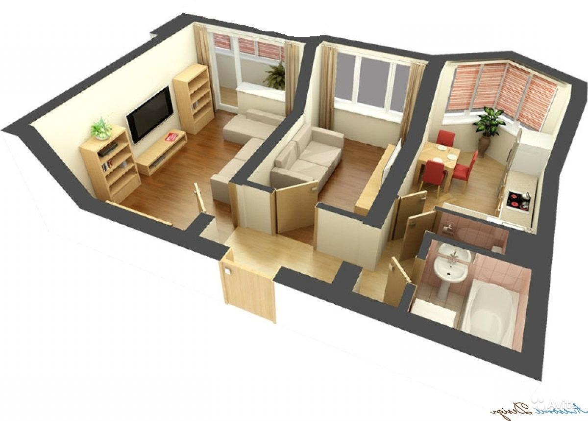 Обмен трехкомнатной квартиры на 59